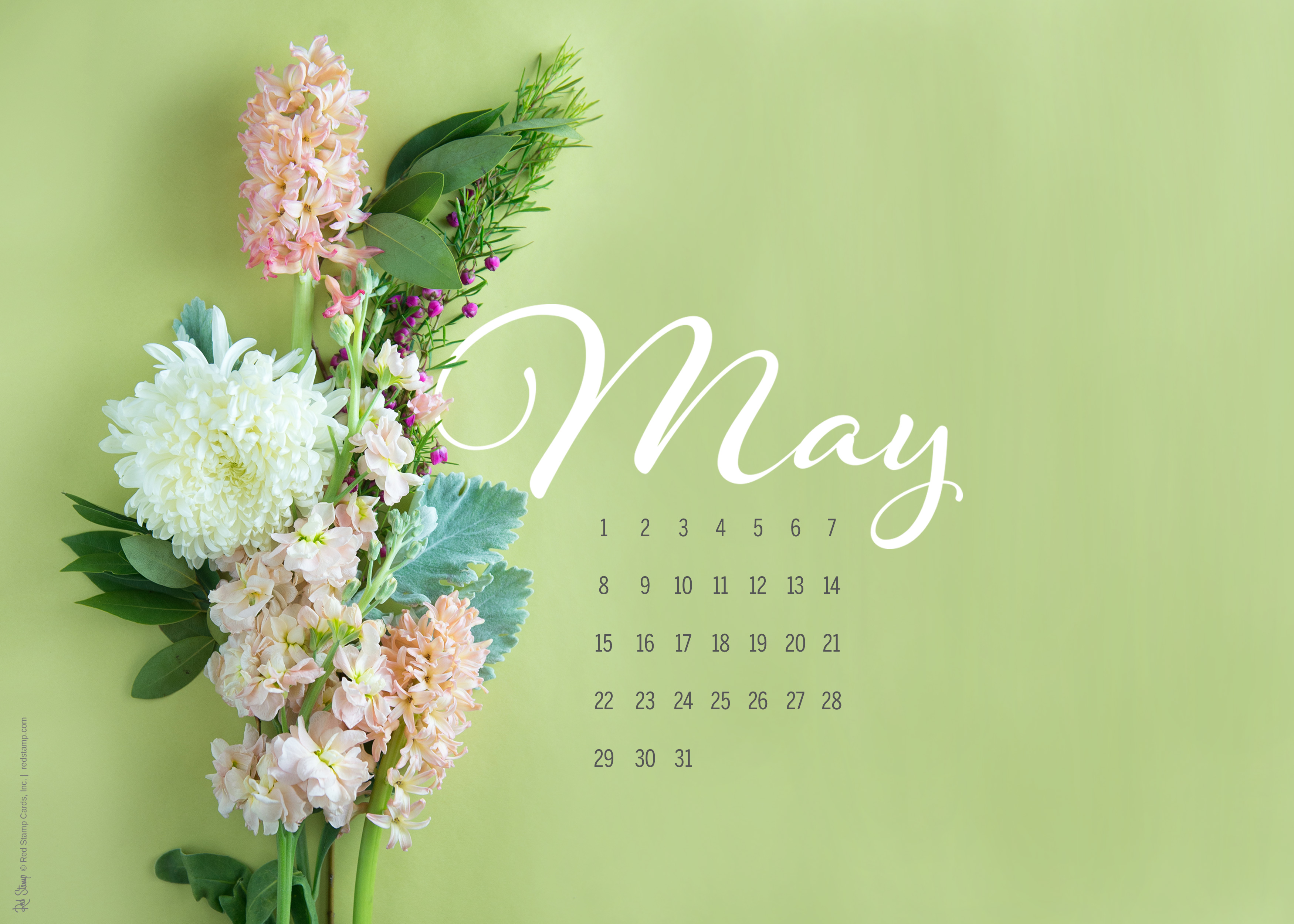 May 2016 Calendars and Wallpaper   Red Stamp 3500x2500