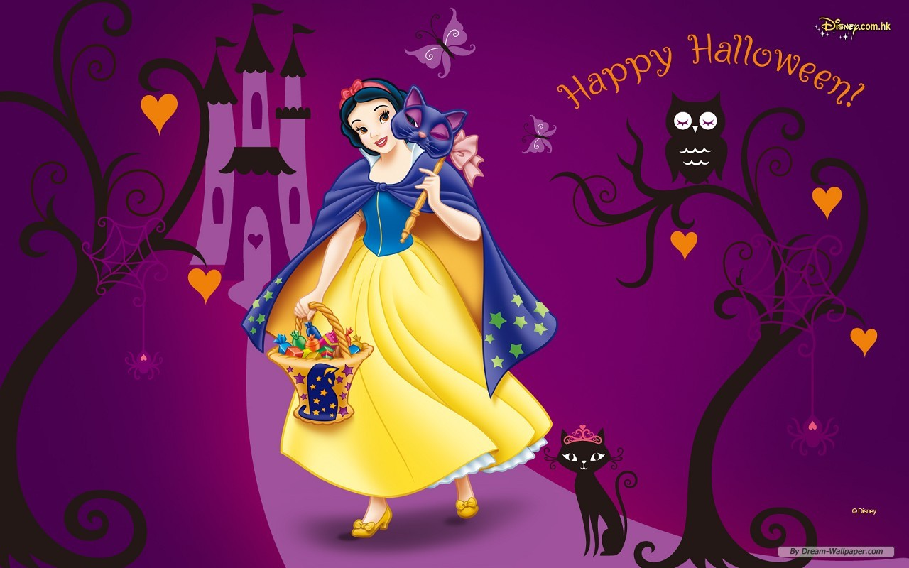 Disney Halloween - Sites Of Great Wallpapers Wallpaper (33253953 ...