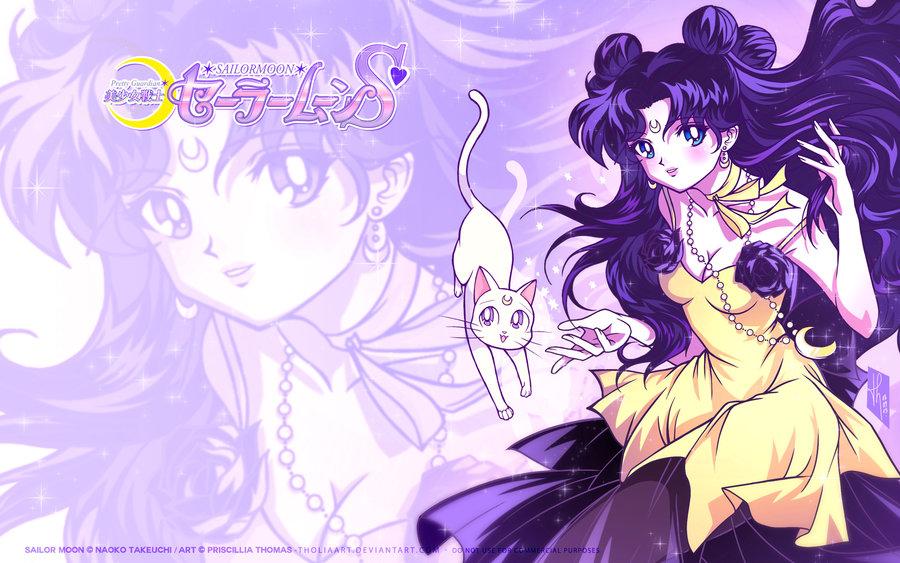 48 Sailor Moon Luna Wallpaper On Wallpapersafari