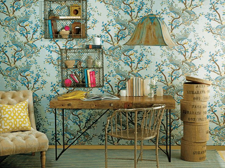 40 Floppy But Refined Boho Chic Home Office Designs DigsDigs 736x551
