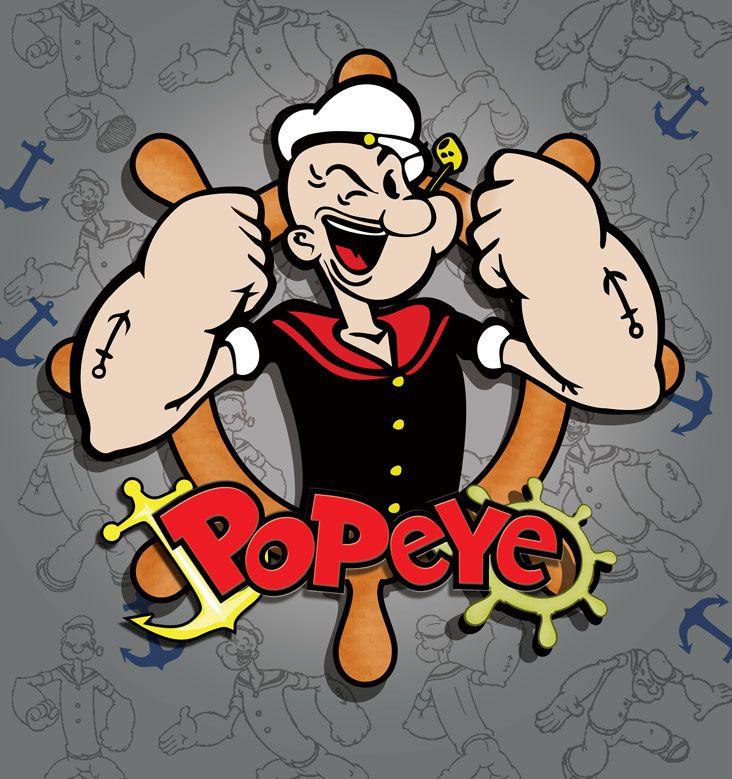 Popeye The Sailor Man Cartoon Desktop HD Pictures Wallpapers 732x779