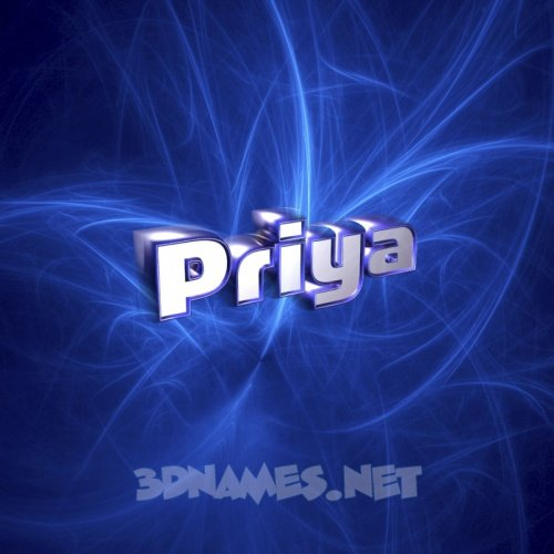 Priya Word Wallpaper