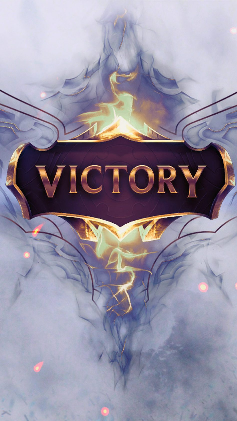 Download Victory League of Legends Pure 4K Ultra HD Mobile 950x1689
