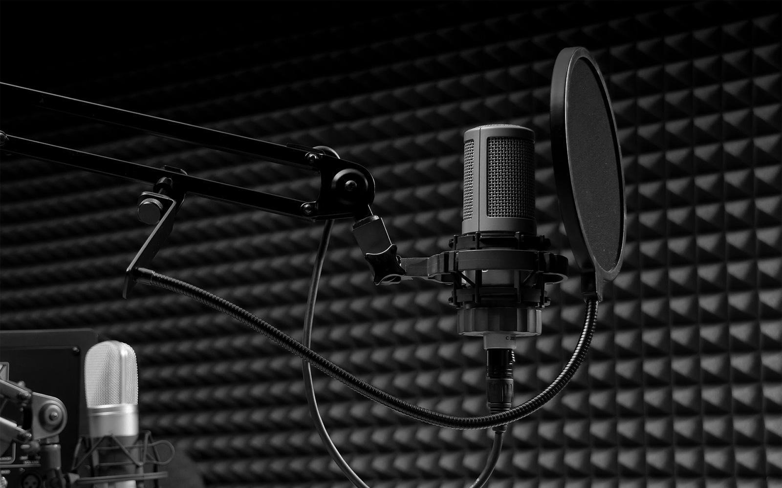 HD Recording Studio Wallpaper 1600x1000