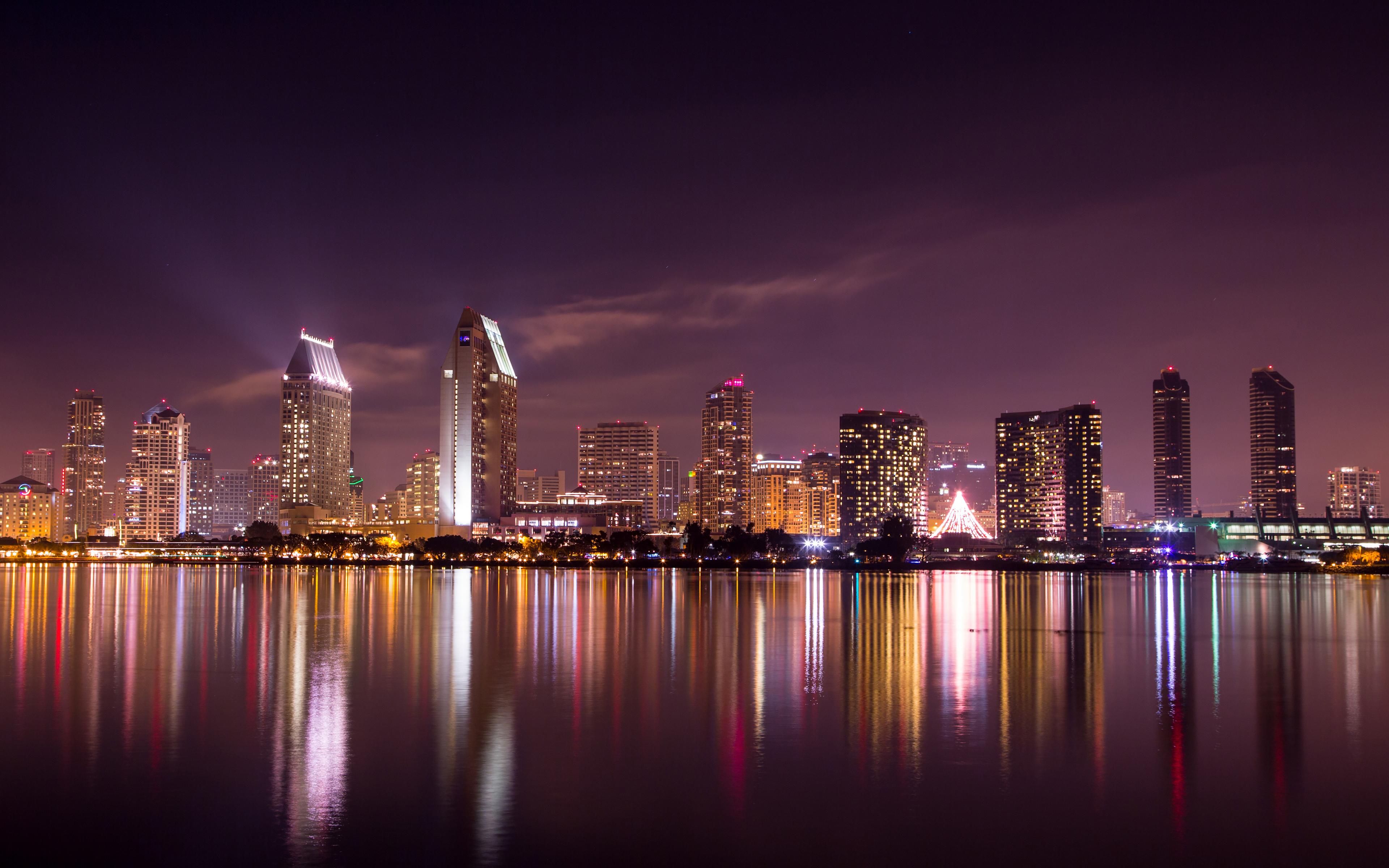 San Diego Skyline Wallpapers HD Wallpapers 3840x2400
