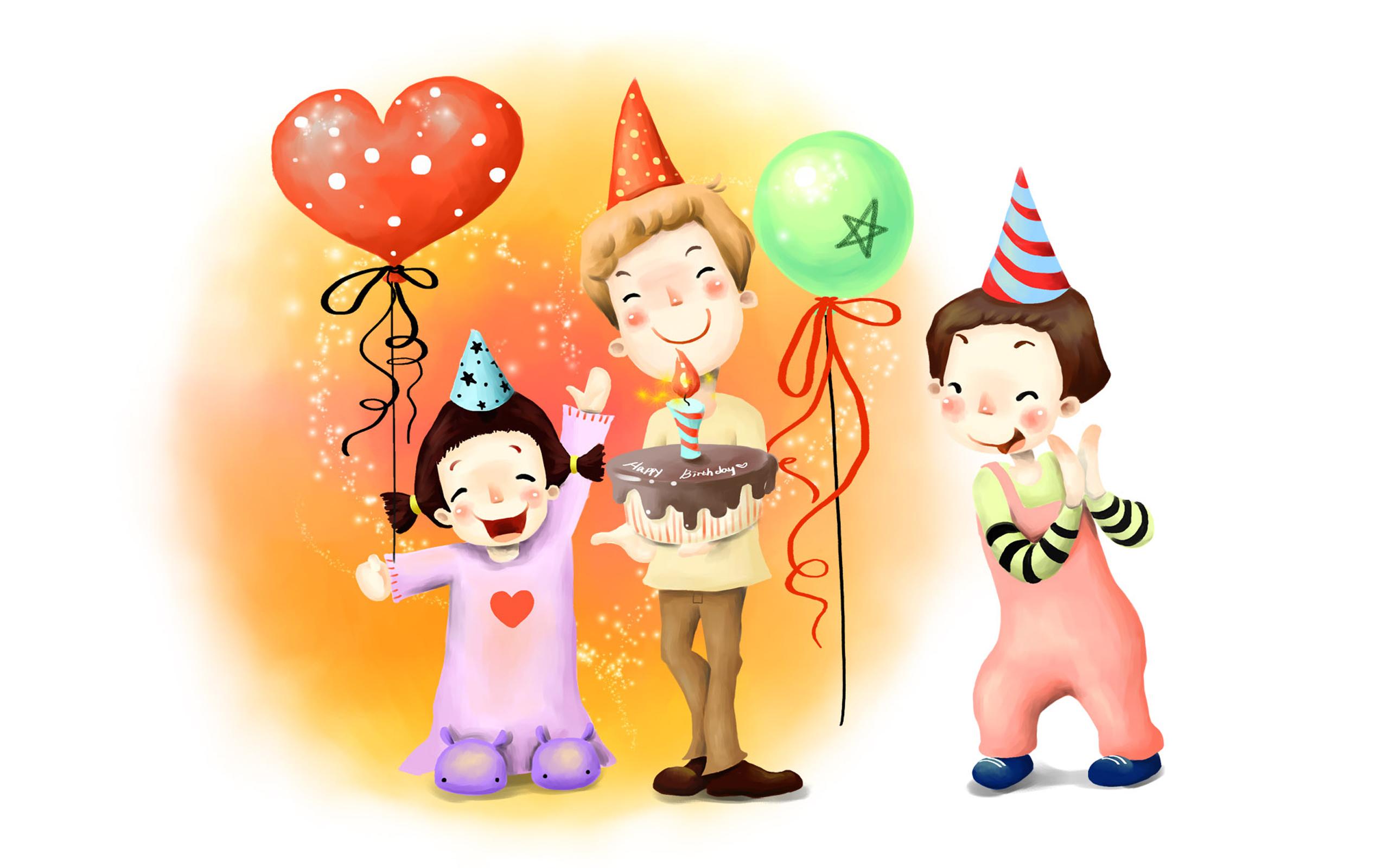 Funny Cartoons Birthday 21 Desktop Wallpaper 2560x1600