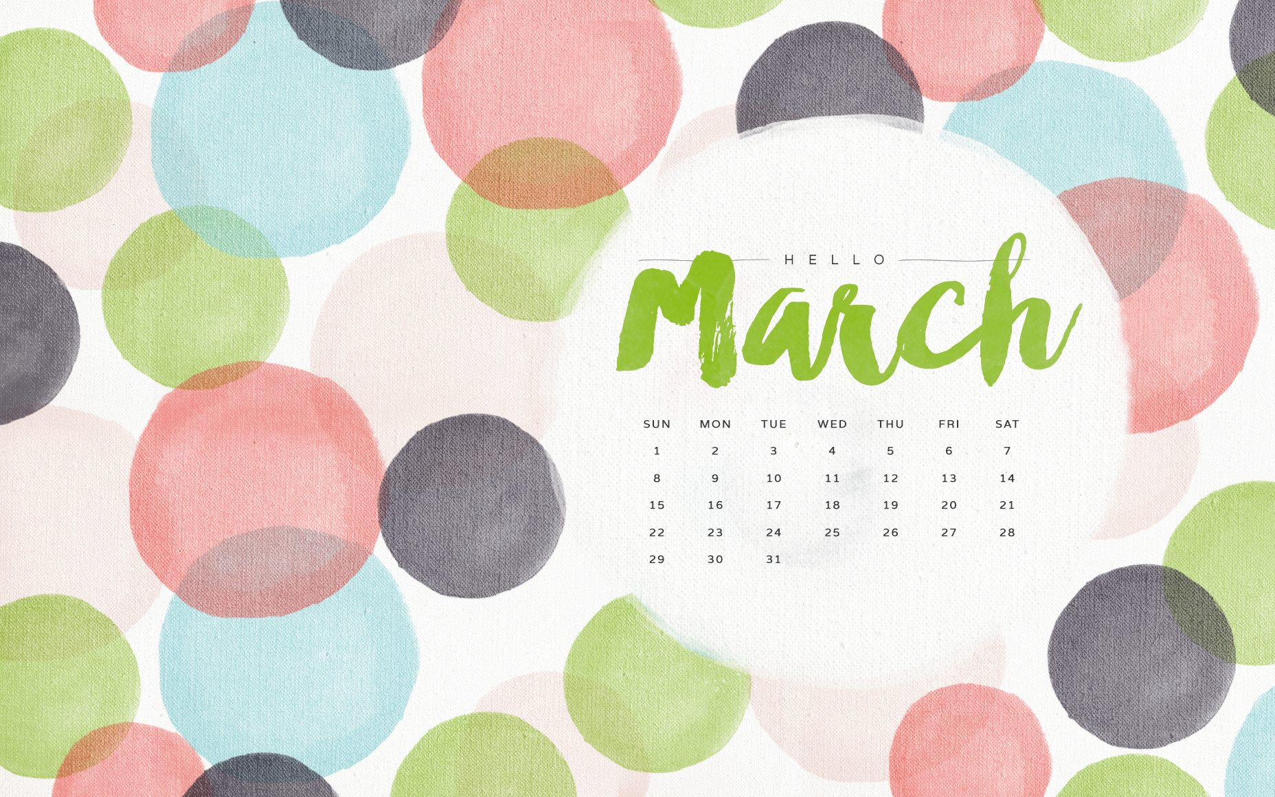 Wonderful March 2015 Calendar Picture   HD Wallpapers 1856x1161