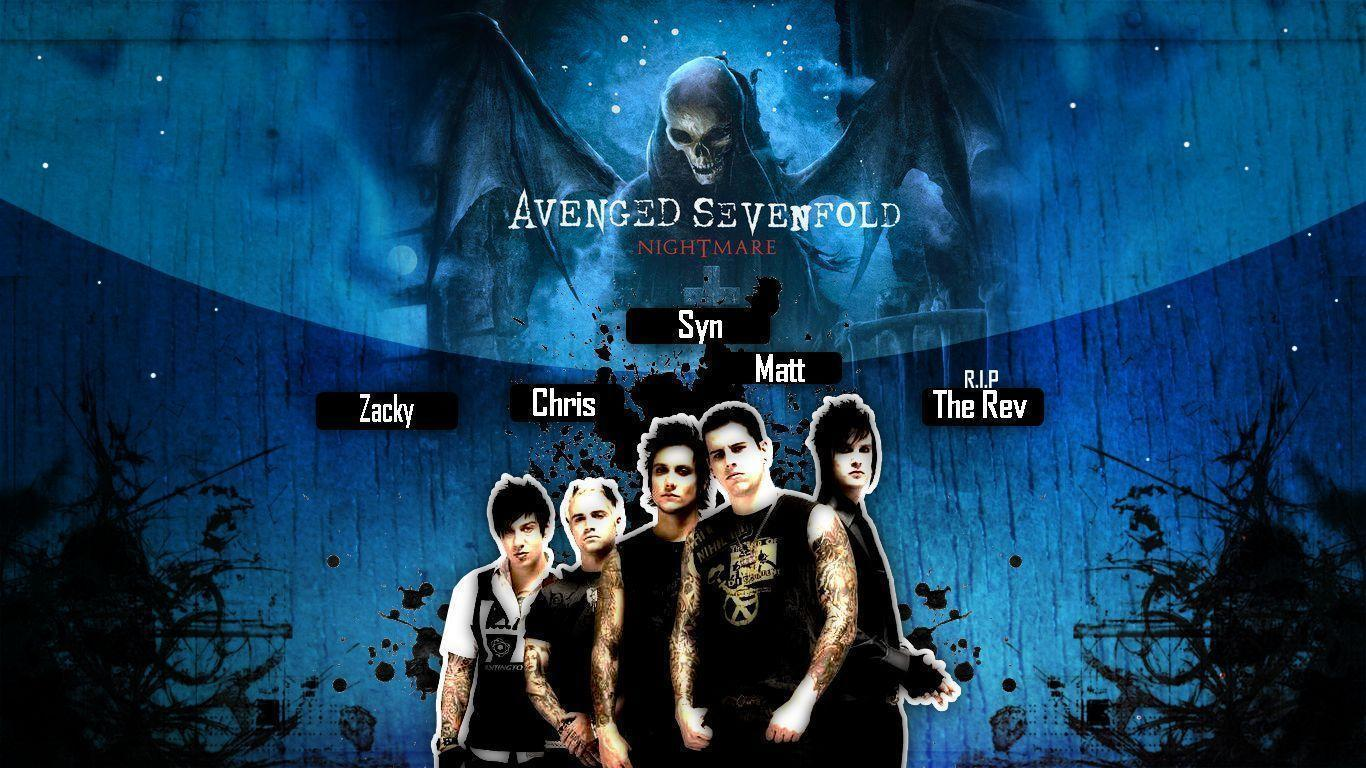 Avenged Sevenfold Wallpapers HD 1366x768