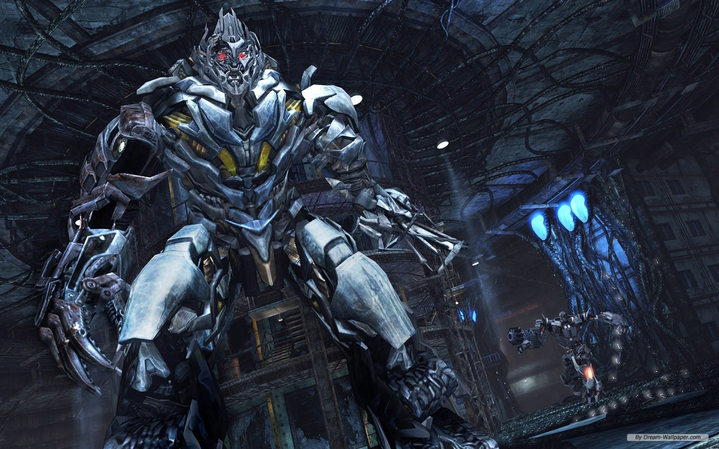 Download Megatron Transformers Fall of Cybertron 1440x900