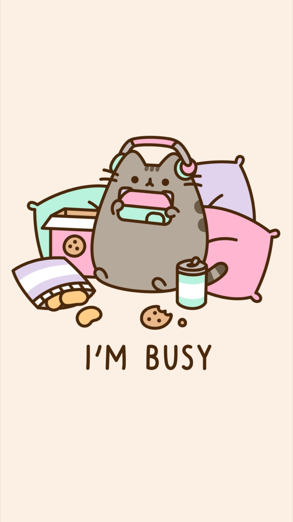 Pin by Emily swainer on Pusheen stuff With images Pusheen cute 1242x2208