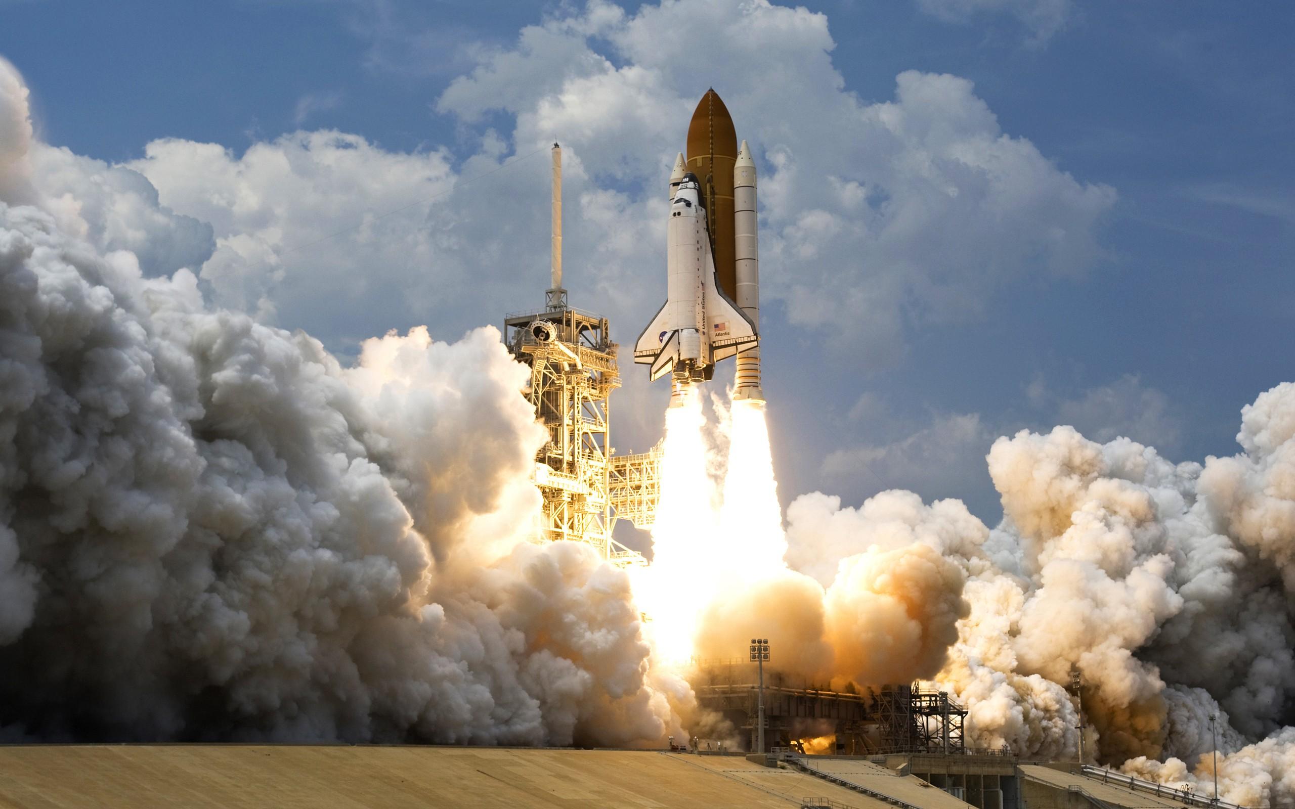 NASA Space Wallpaper 2560x1600 NASA Space Shuttle Atlantis 2560x1600