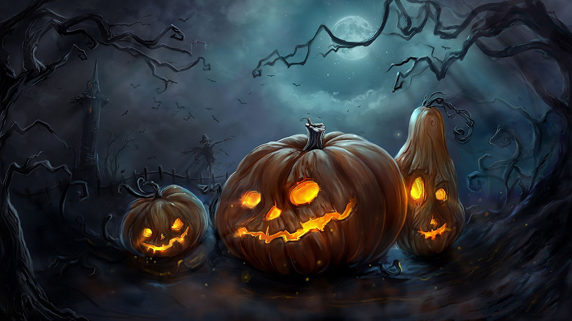 HD Wallpaper Desktop for Halloween   Best Wallpaper HD Halloween 1920x1080