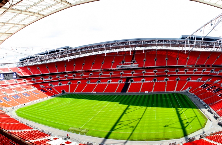 wembley stadium football mural wallpaper custom made to fit your wall 764x500
