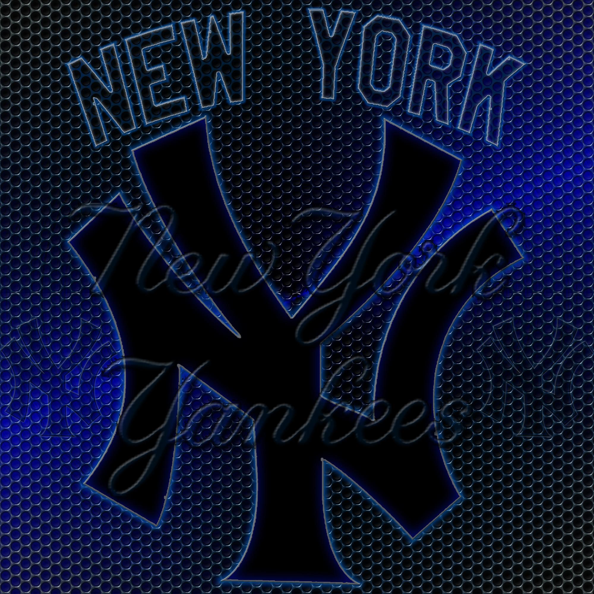 New York Yankees Logo Grid Wallpaper Download Wallpaper 2000x2000