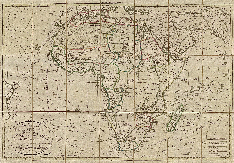 Africa Map Wallpaper 4680x3277