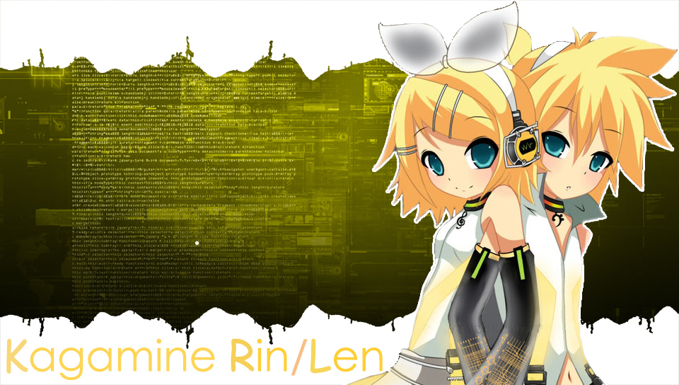 Rin Len v2 PS Vita Wallpapers   PS Vita Themes and Wallpapers 960x544