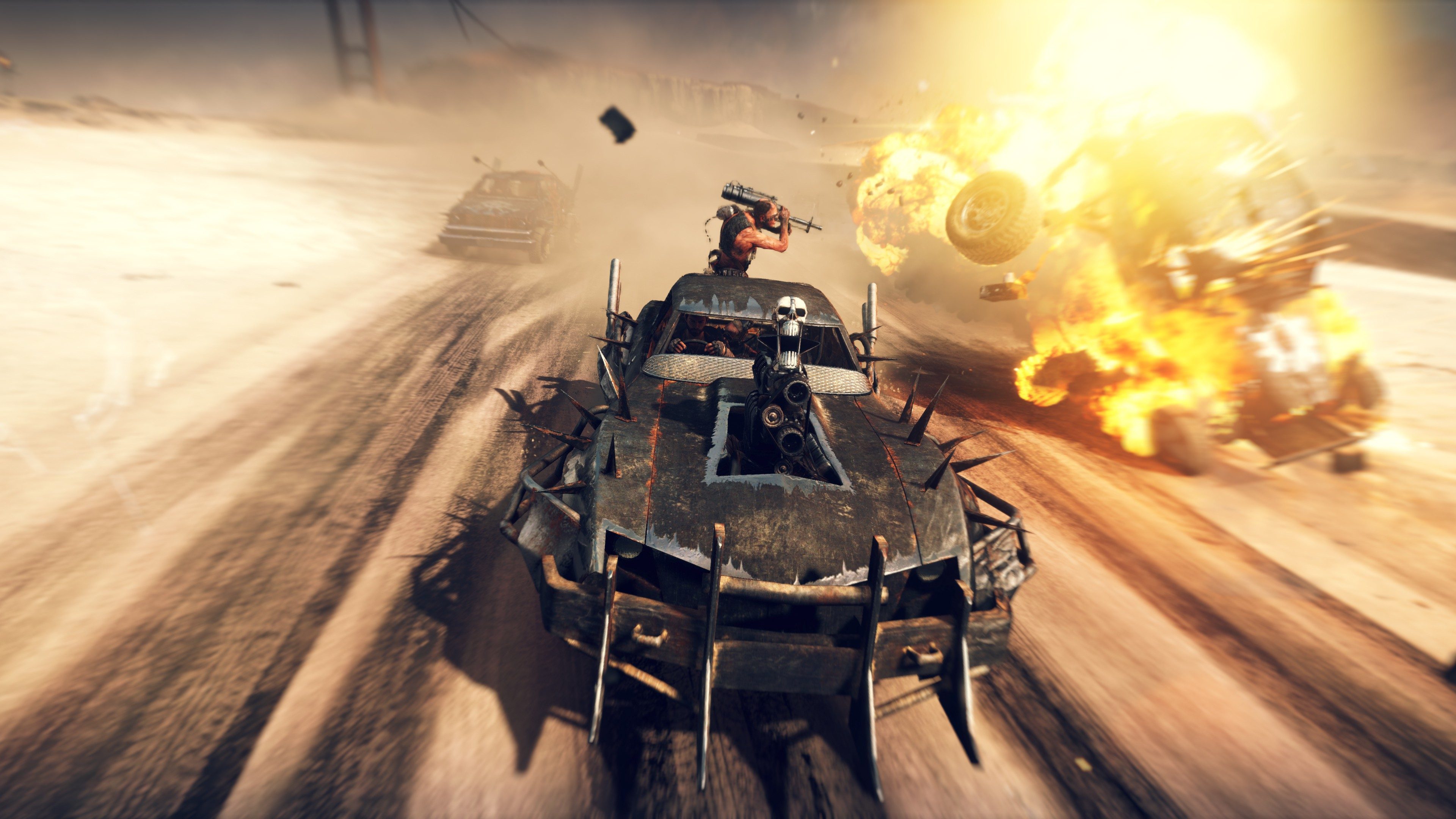 Wallpaper Mad Max Best Games 2015 game shooter PC PS4 Xbox 3840x2160