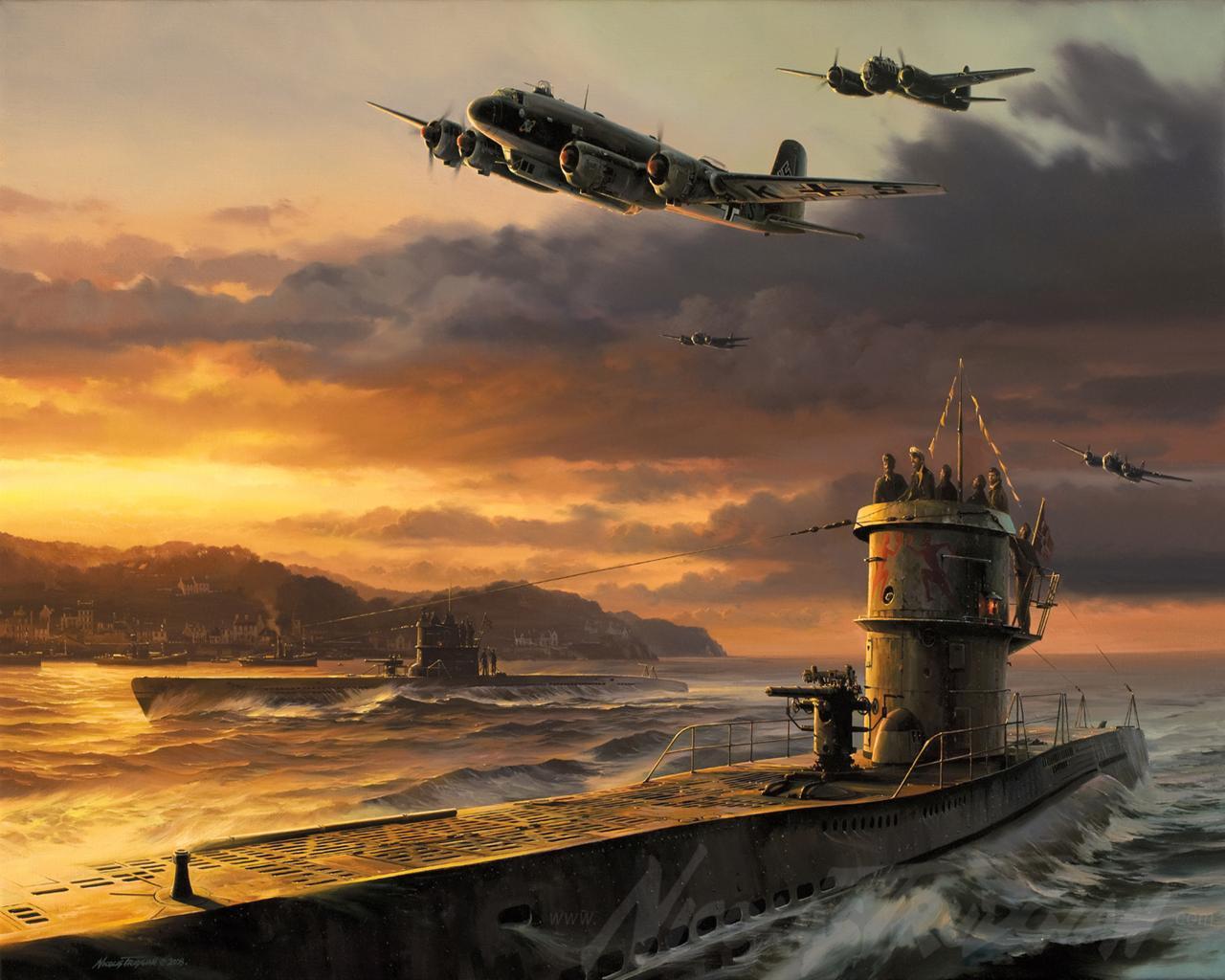 Military   Submarine Wallpaper 1280x1024