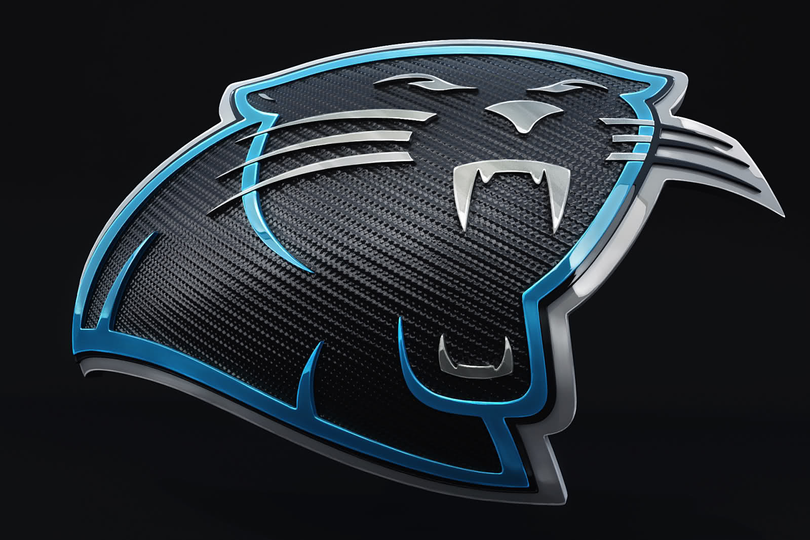 Panthers Carbon Fiber Wallpaper for Phones and Tablets 1599x1066
