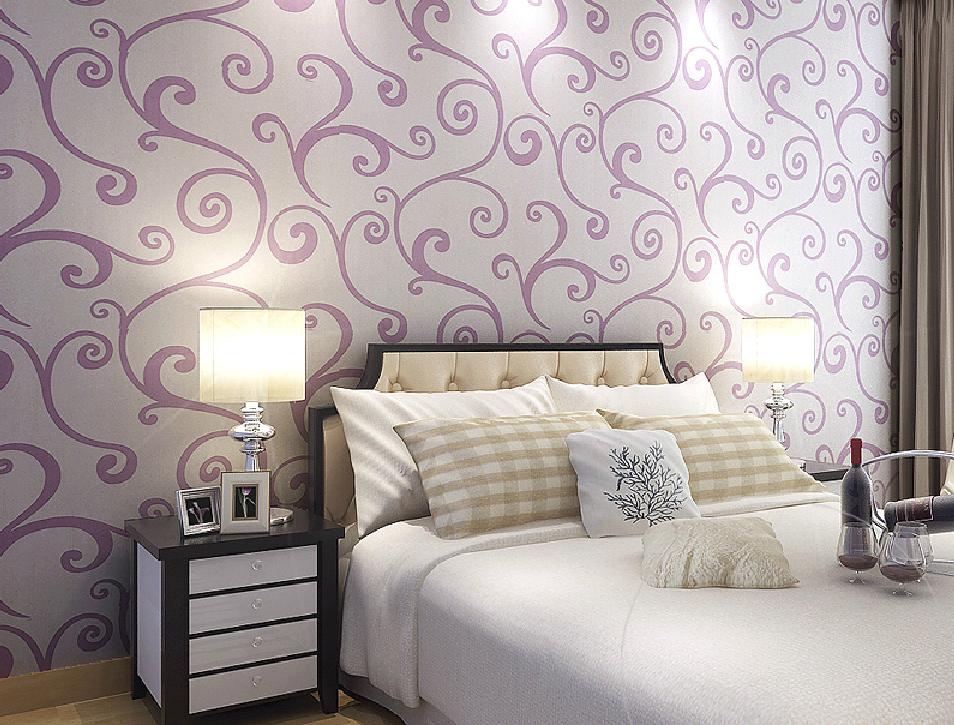 Purple Room Wallpaper - WallpaperSafari