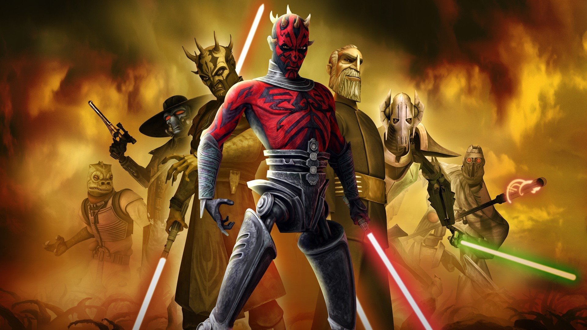 Free Download Star Wars The Clone Wars Full Hd Wallpaper And
