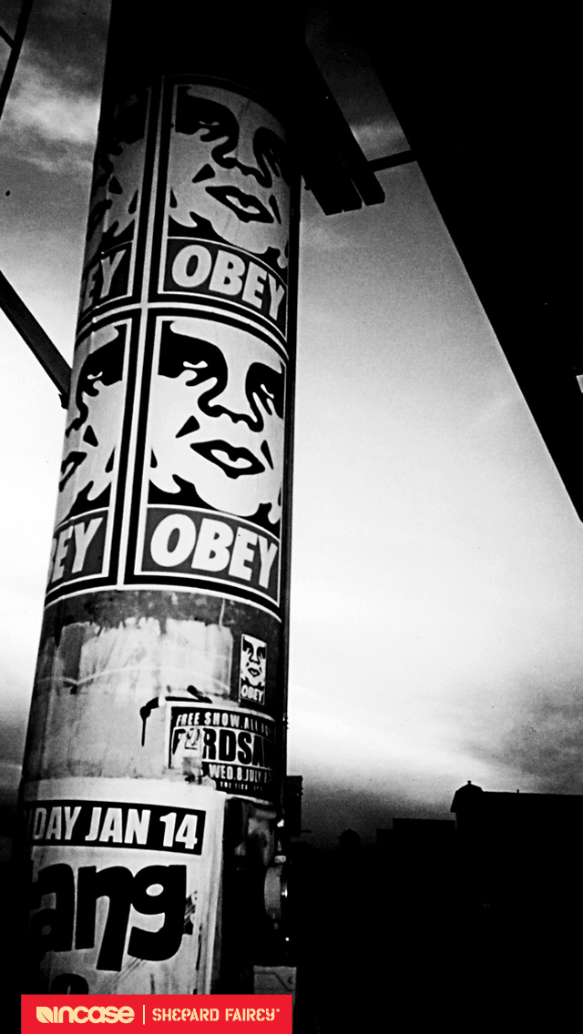 Obey Wallpaper Iphone 5 Iphone wallpaper 640x1136