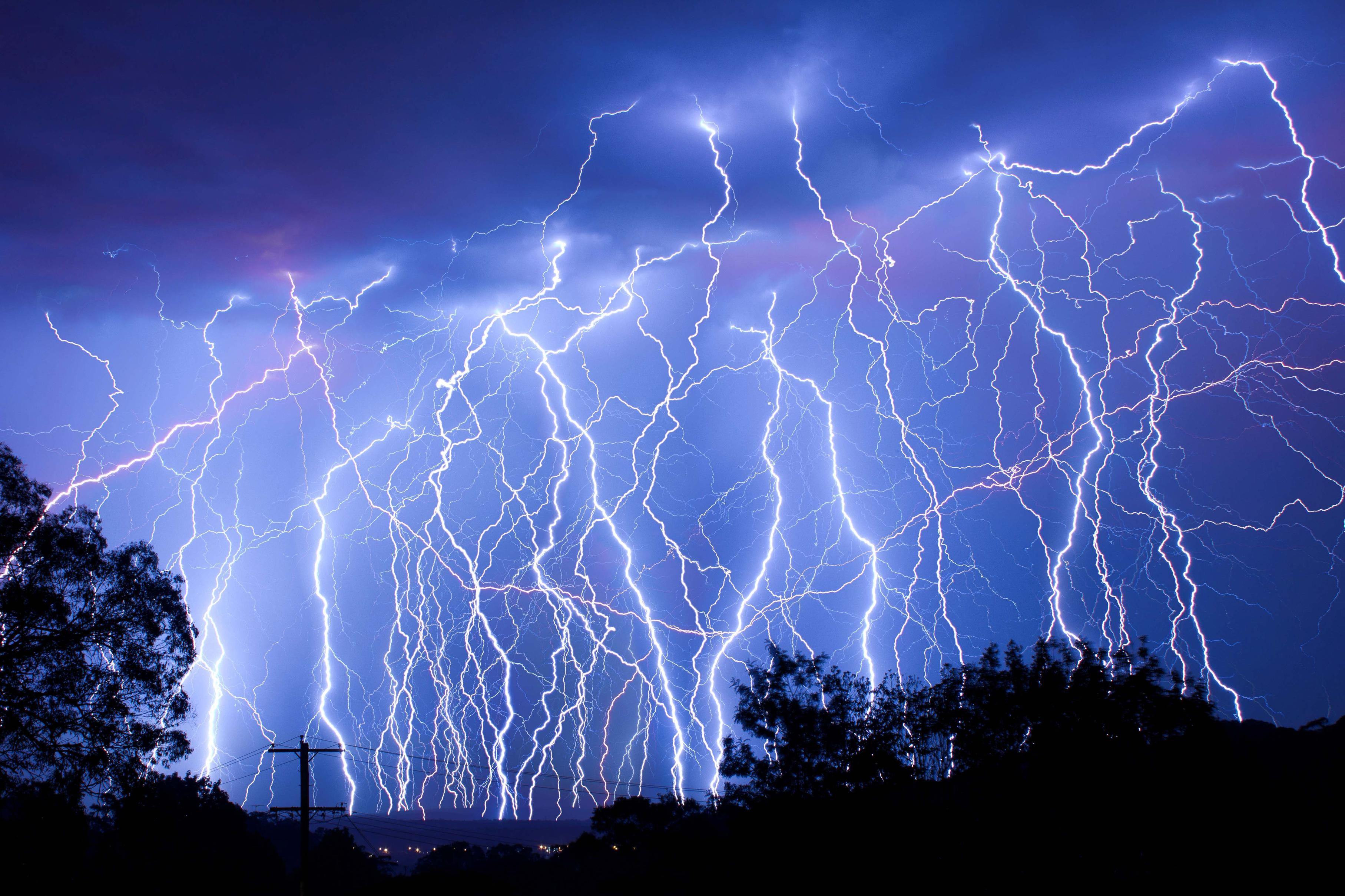 Lightning Wallpapers HD 3629x2419