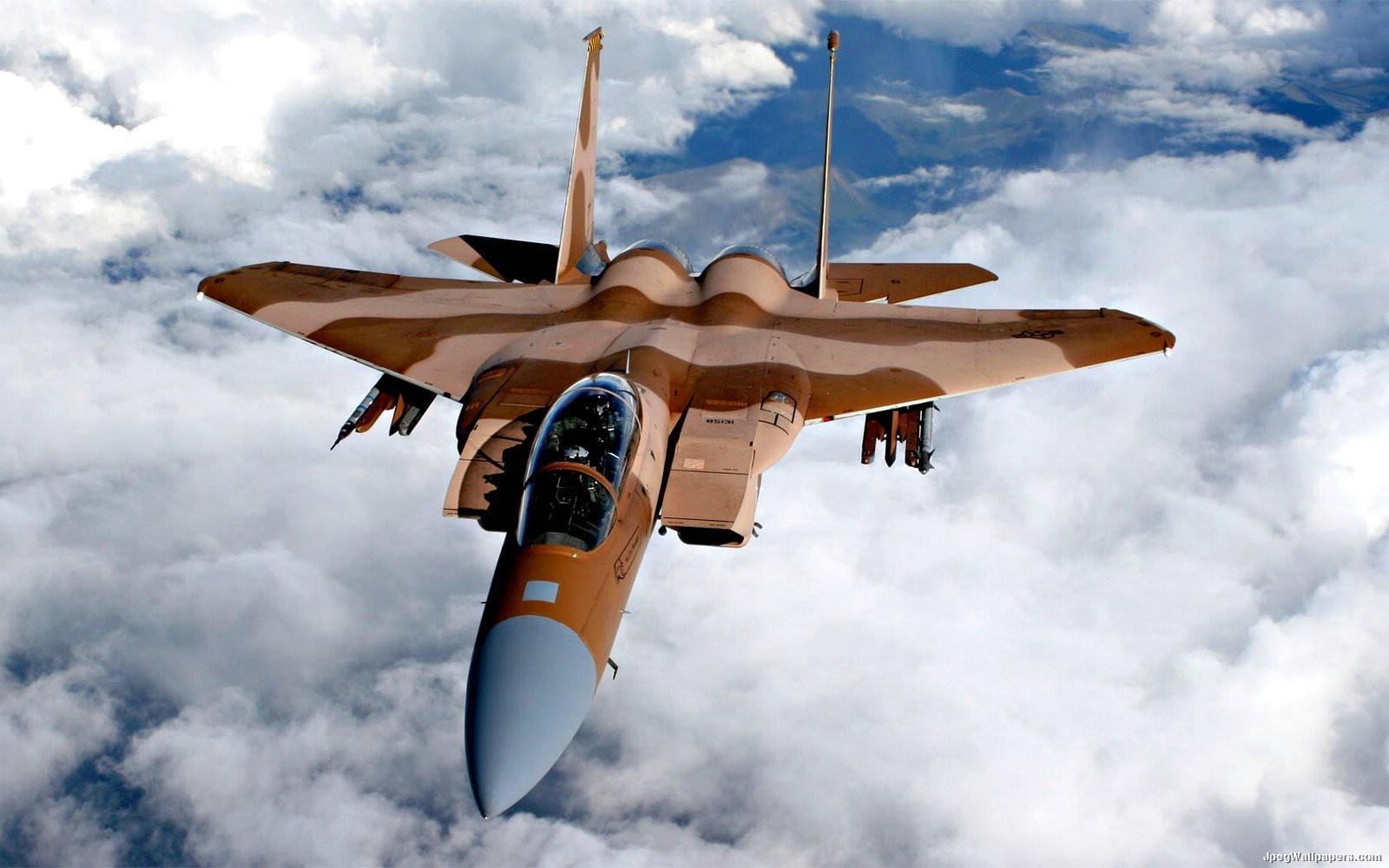 Download Military wallpaper USAF F15D 1600x1000