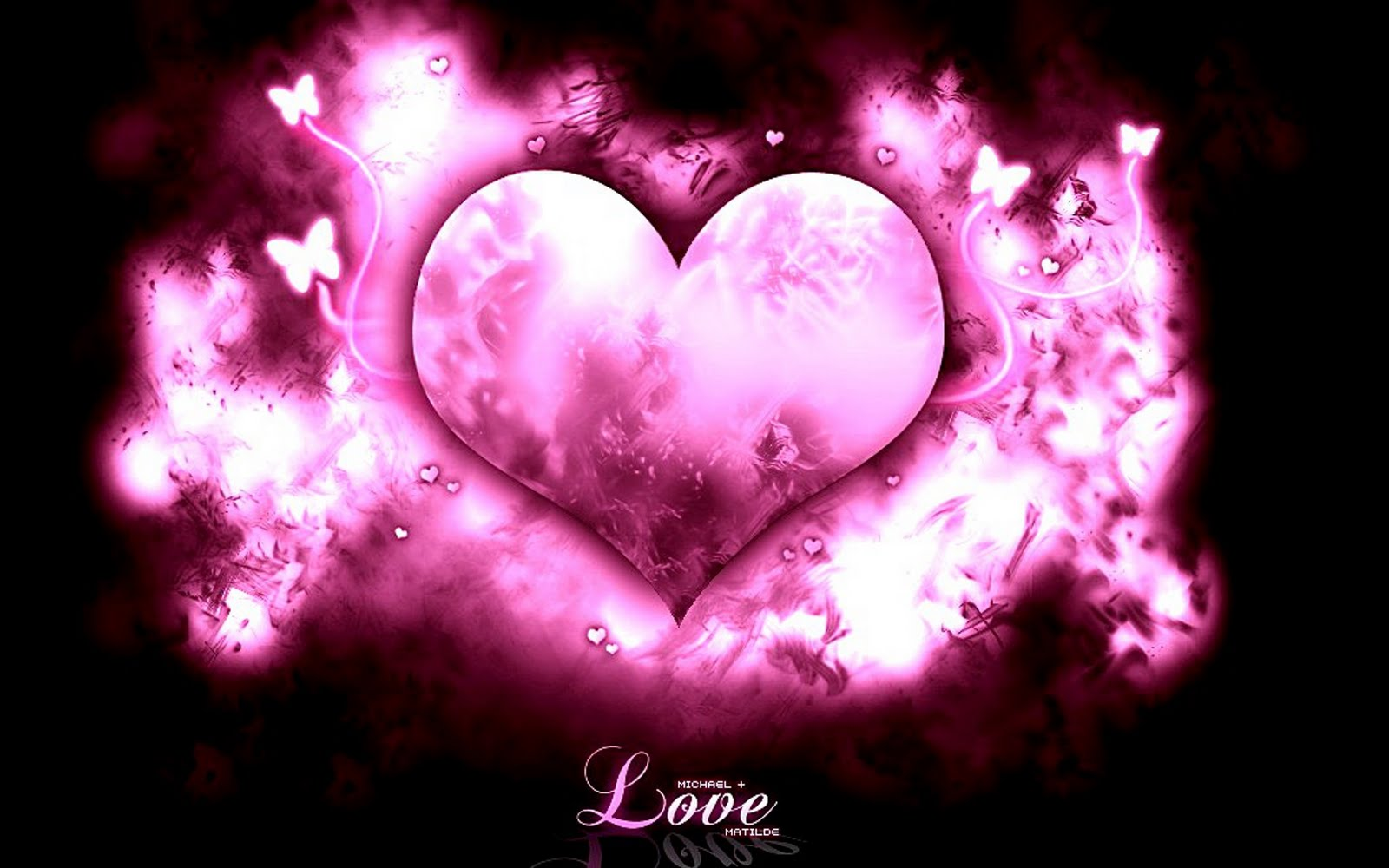 Backgrounds Cute Heart and Love Wallpapers with Different Backgrounds 1600x1000