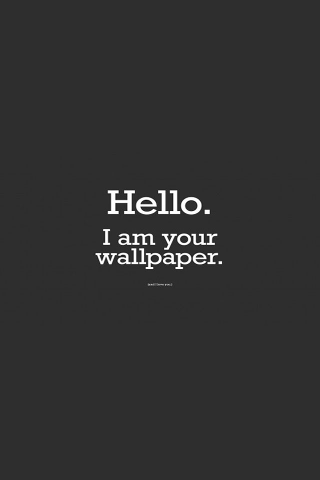 Funny HD Funny Quote Wallpaper 640x960