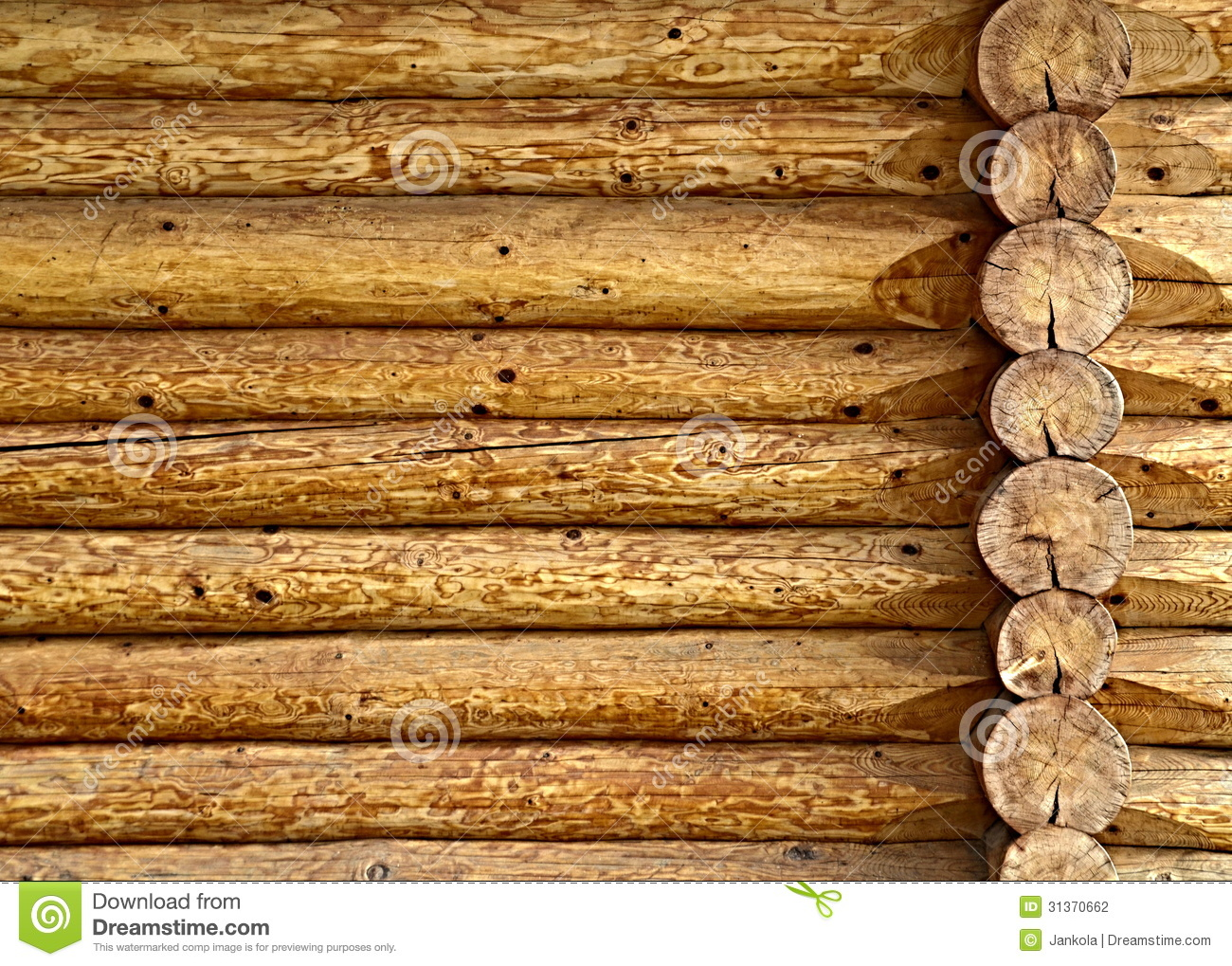 Log Cabin Wall A wooden log cabin wall 1300x1019