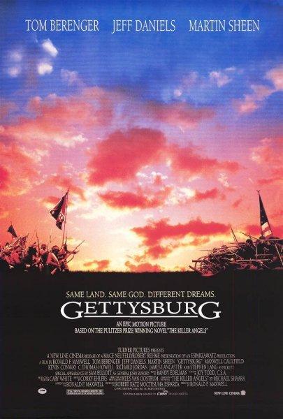 Gettysburg Cranky Critic Movie Poster Downloads 405x600