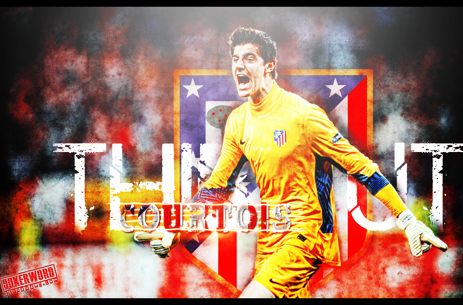Thibaut Courtois Wallpaper by JoKeRWord 1844x1218