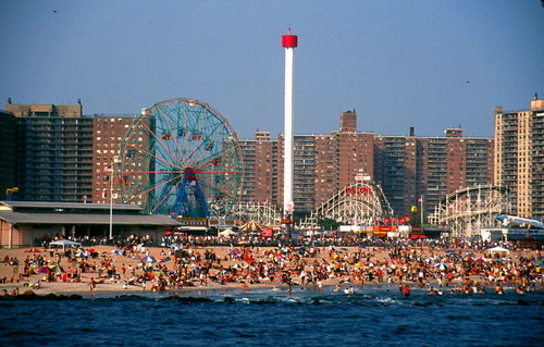 brooklyn coney island astroland amusement park new york city ny 500x319
