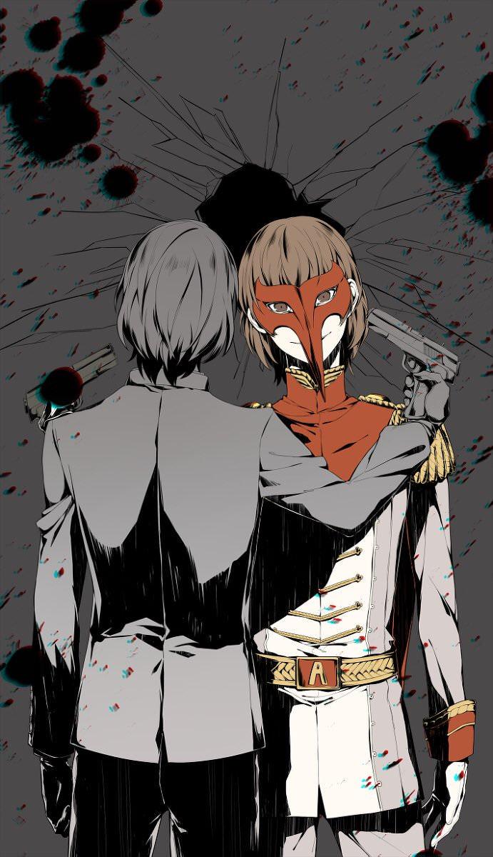 Beyond the Veil Goro Akechi Persona5 691x1200