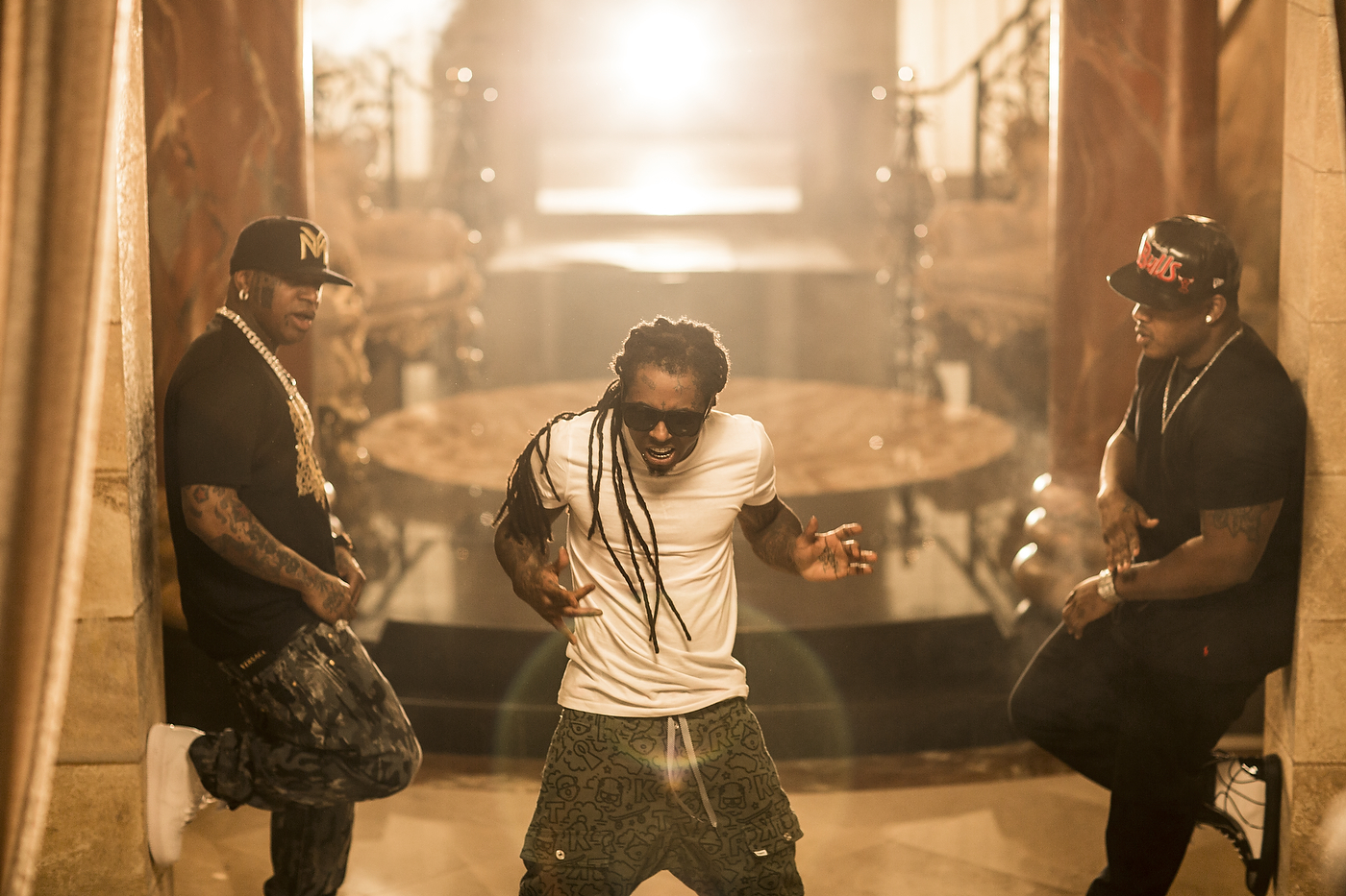 BTS Of Rich Gang Tapout Music Video Shoot Pics Derick G 1400x933
