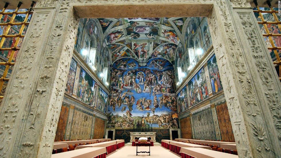 These Photos of the Sistine Chapel Are Stunning EpicPew 980x552