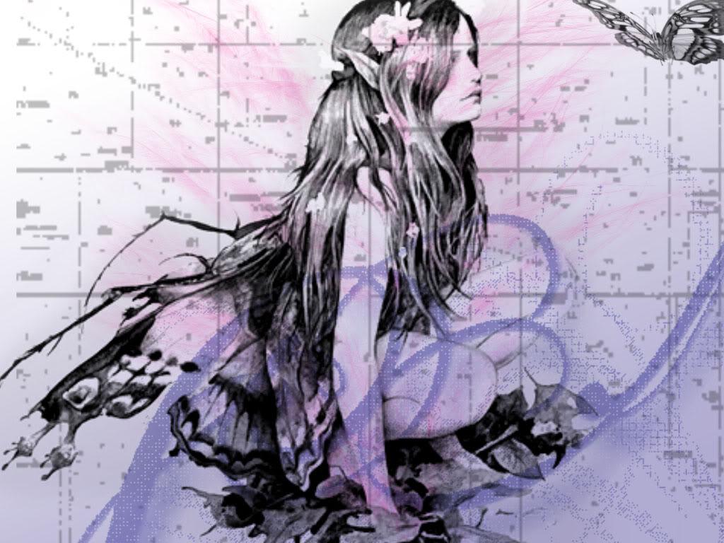 Fairy Wallpaper Background Theme Desktop 1024x768
