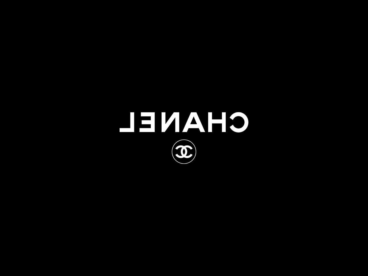 Chanel Logo Wallpaper Black Chanel logo wallpaper iphone 1280x960