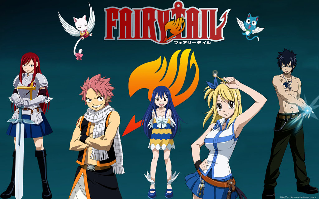 Fairy Tail Wallpaper by Mysitc Mage 1024x640