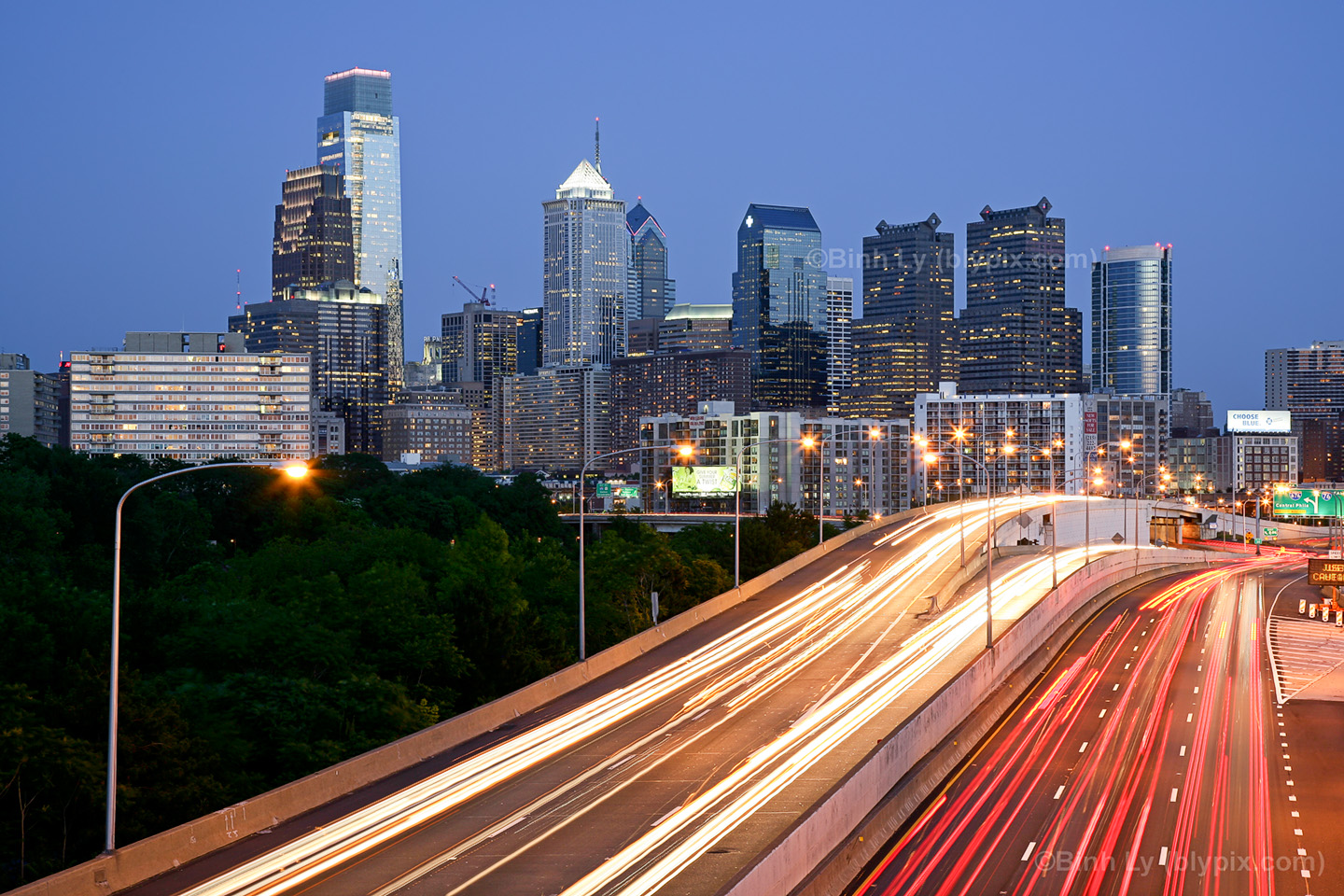 Philadelphia Skyline Desktop Wallpaper 1 1440x960