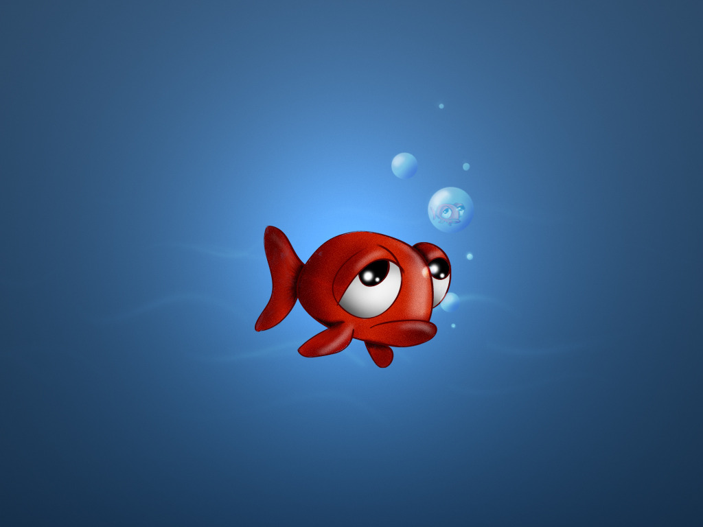 Download Animated Fish Wallpaper 1024x768