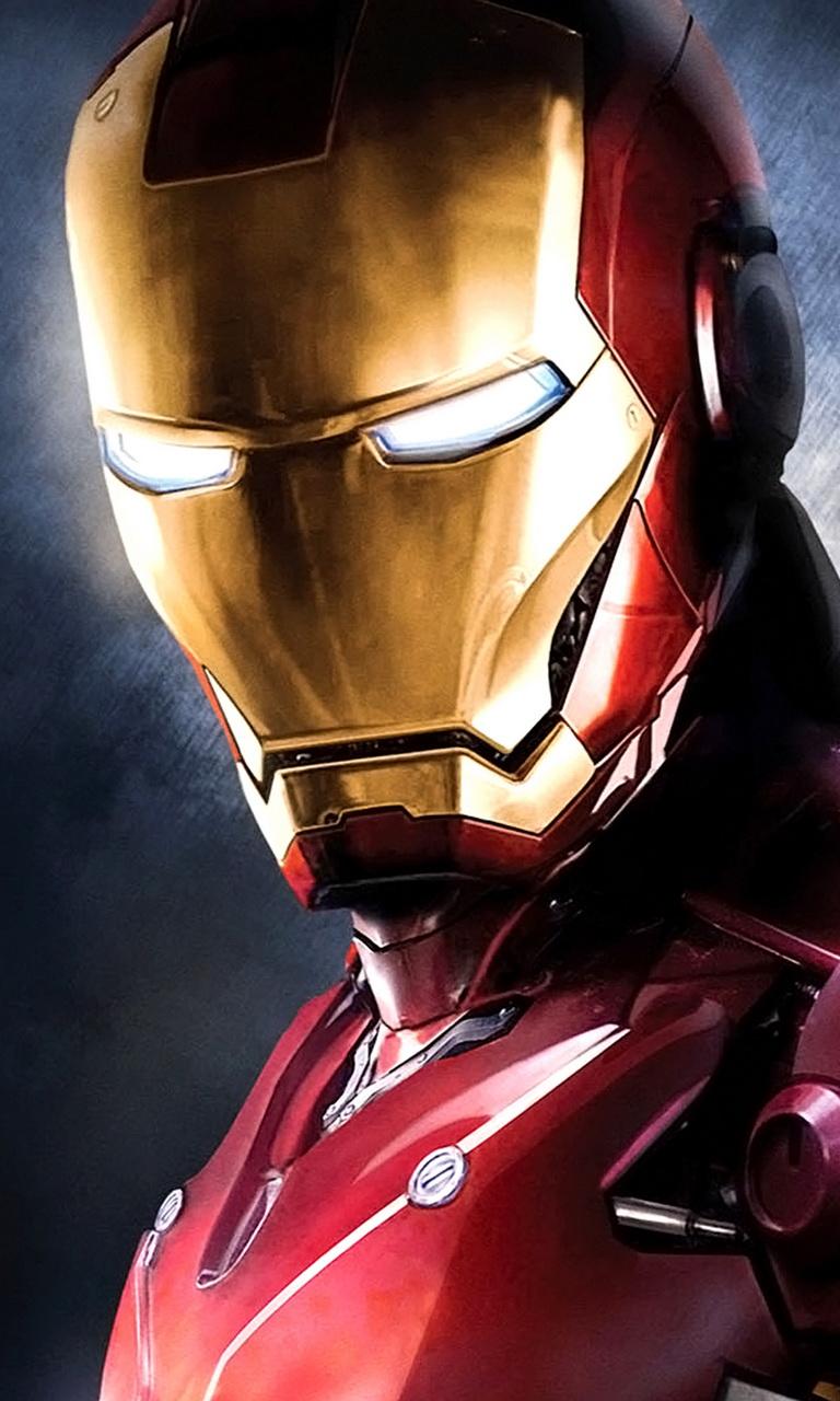 Download Iron Man mobile Mobile Phone Wallpaper   MobileSMSPKnet 768x1280