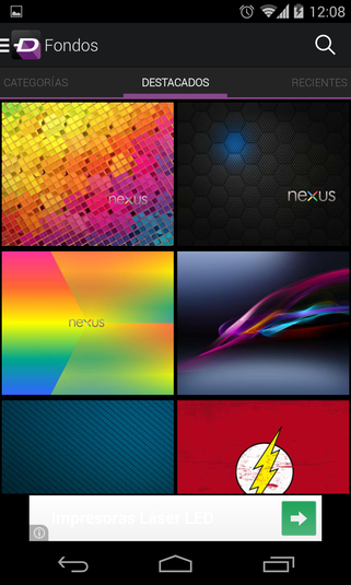 ZEDGE Ringtones Wallpapers Android Descargar 321x535
