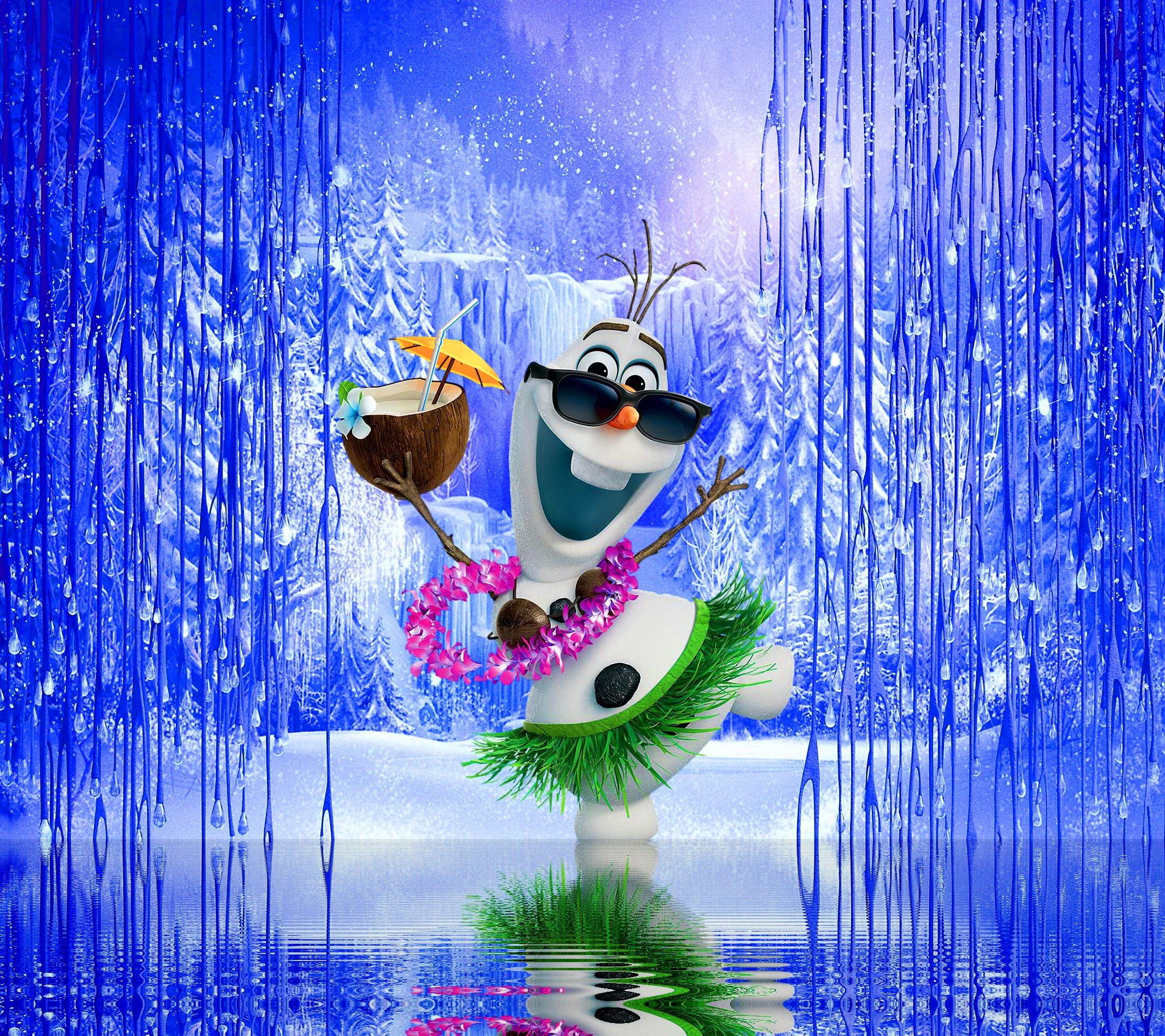 Olaf Wallpapers: Olaf Summer Wallpaper