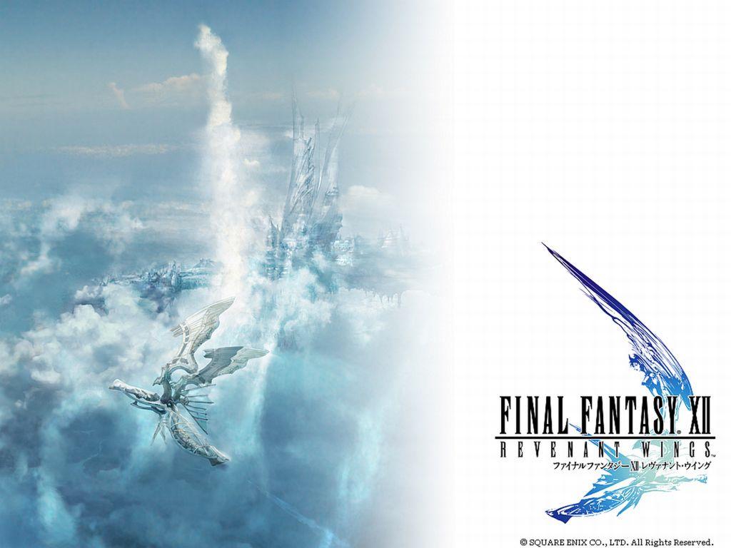 Final Fantasy XII Revenant Wings Final Fantasy XII Wallpaper 1024x768