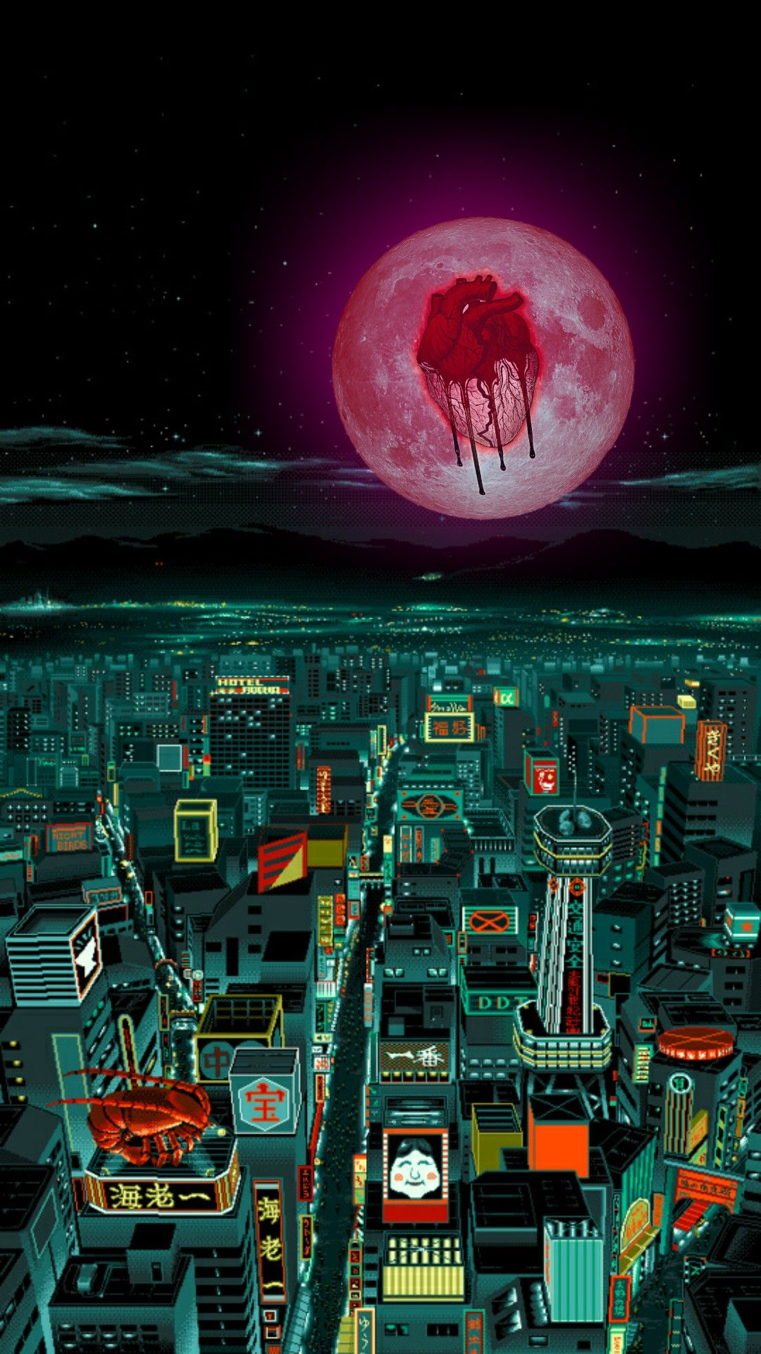 Heartbreak On a Full Moon in the City HUSBAND Chris brown 1106x1967