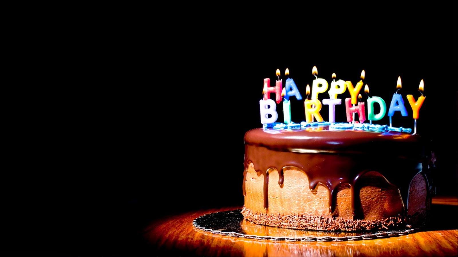 Wallpaper Happy Birthday Selamat Ulang Tahun 1600x900