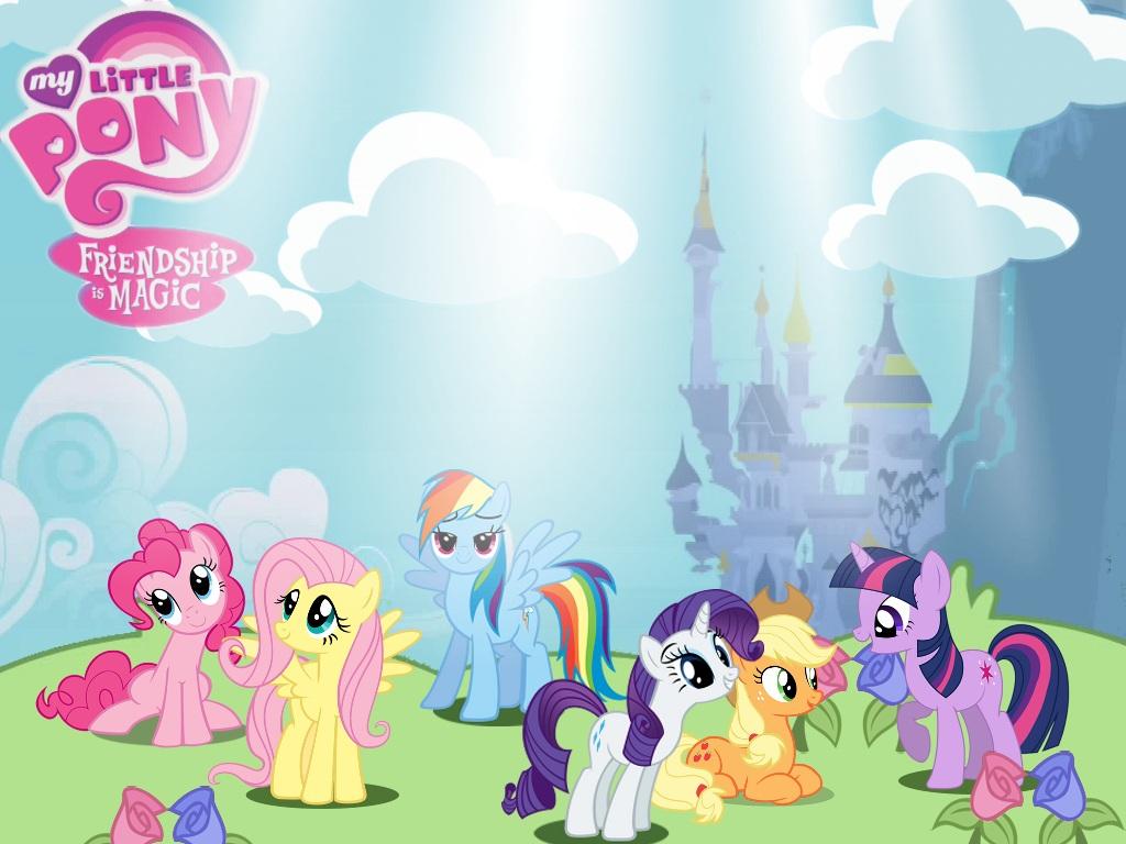 Free Download My Little Pony Wallpaper By Brokenmessiah 1024x768