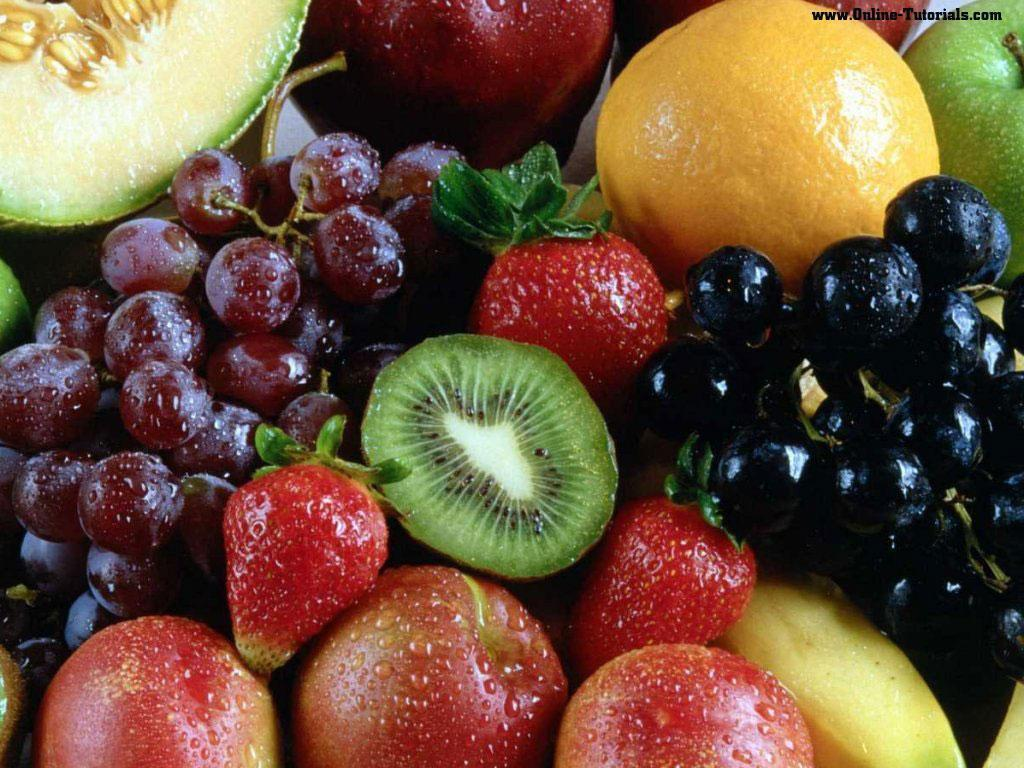 Variety of Fruit Wallpaper   Fruit Wallpaper 6333847 1024x768